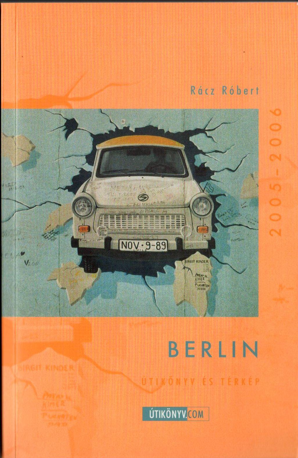 Berlin (útikönyv kivehető vízhatlan téphetelen várostérképpel