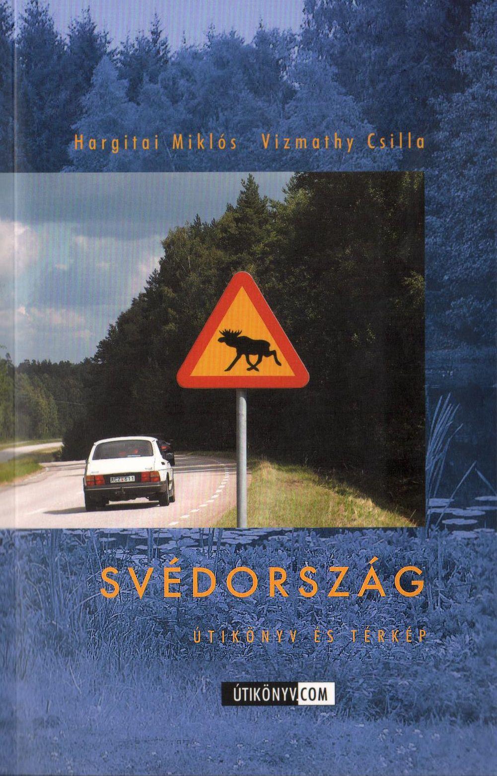 Svédország útikönyv kivehető vízhatlan, eltéphetetlen térkép melléklettel