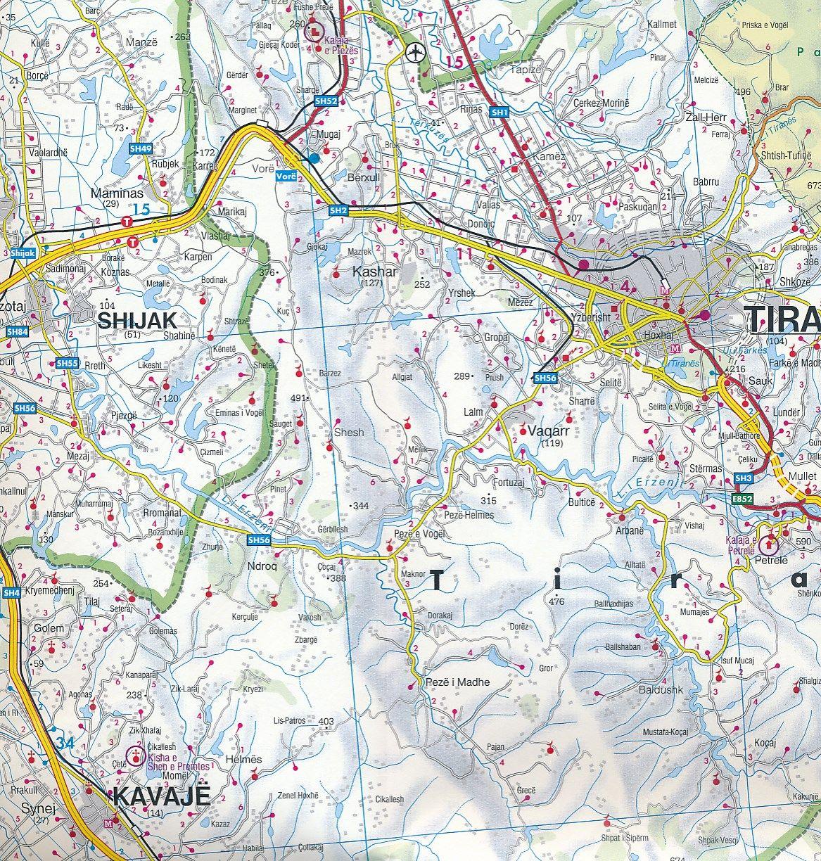 Albánia: mintakivágat