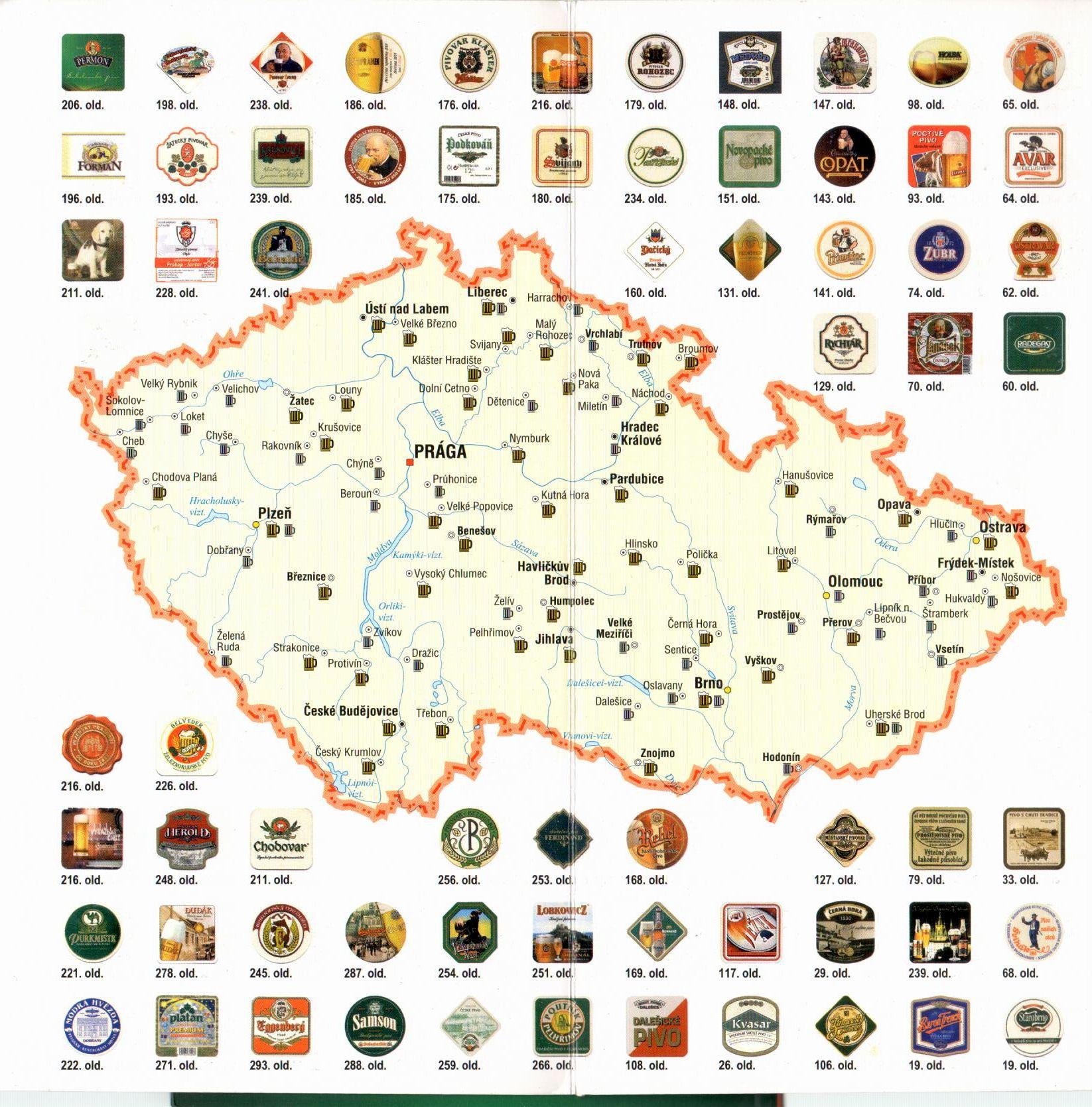 Sörmentén Csehország mintaoldal