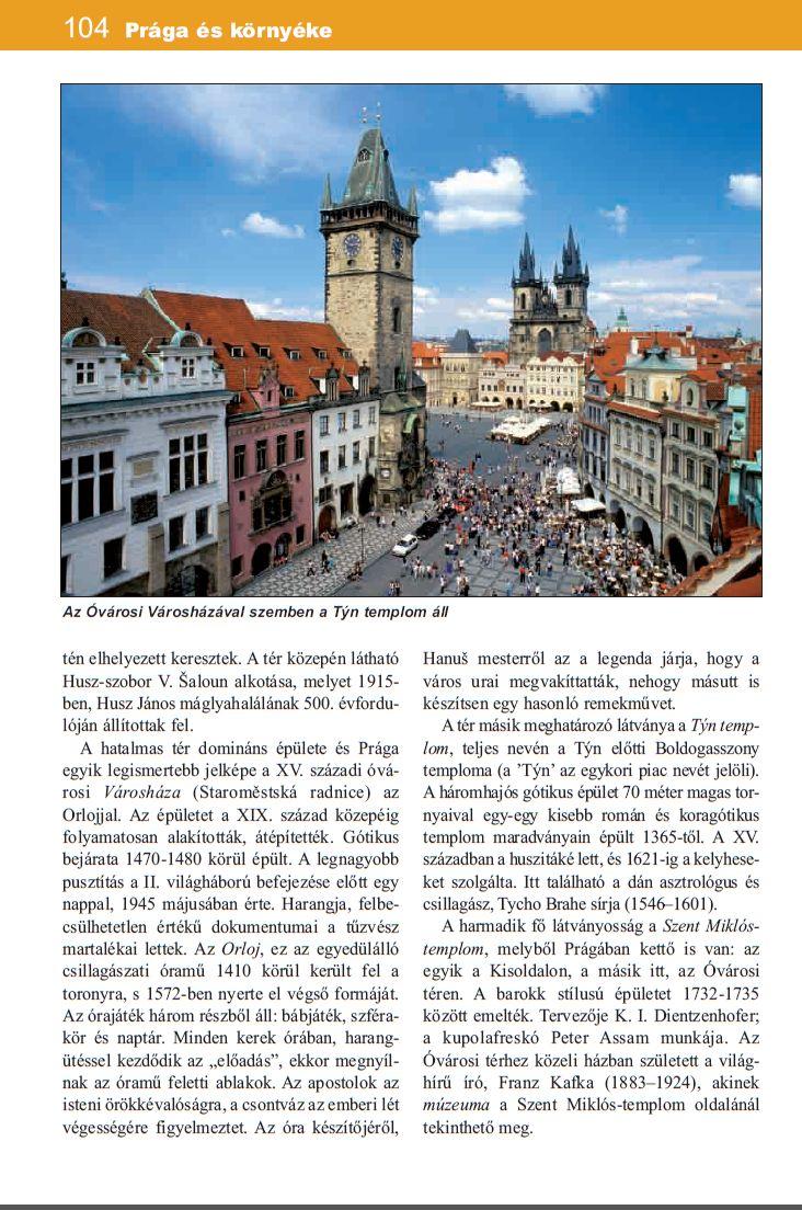 Csehország úőtikönyv mintaoldal