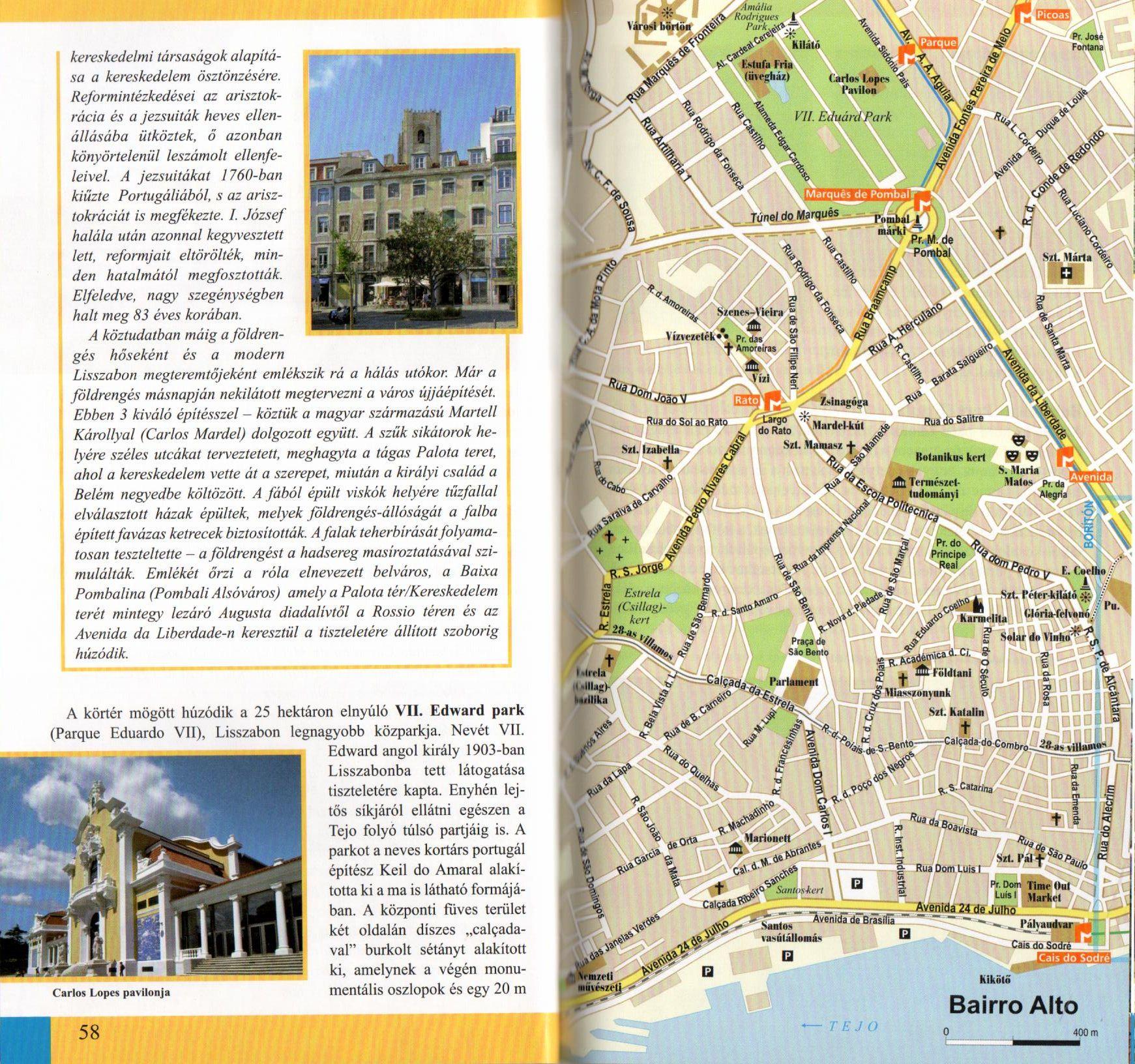 Lisszabon és környéke mintaoldal