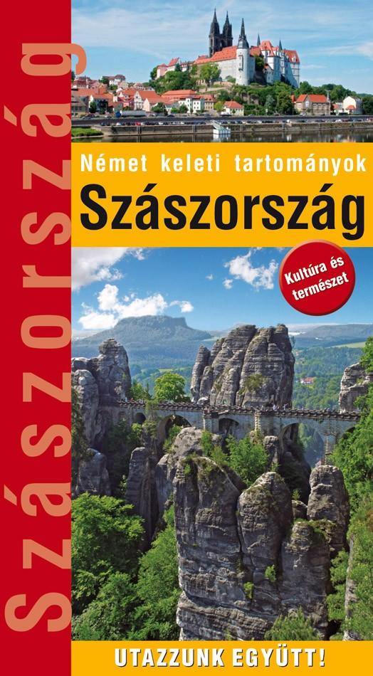 Zsebméretű Szászország útikönyv 32 térképpel, 400 fényképpel (2017)