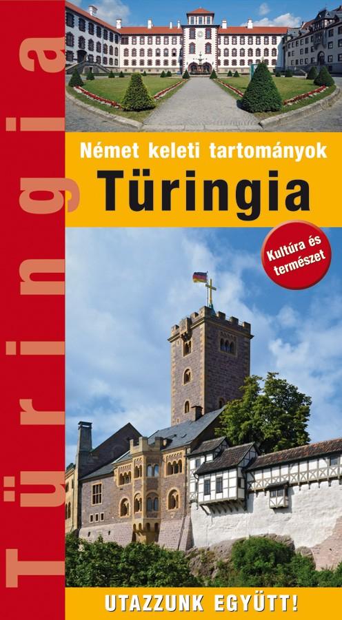 Zsebméretű Türingia útikönyv 30 térképpel, 370 fényképpel (2018)