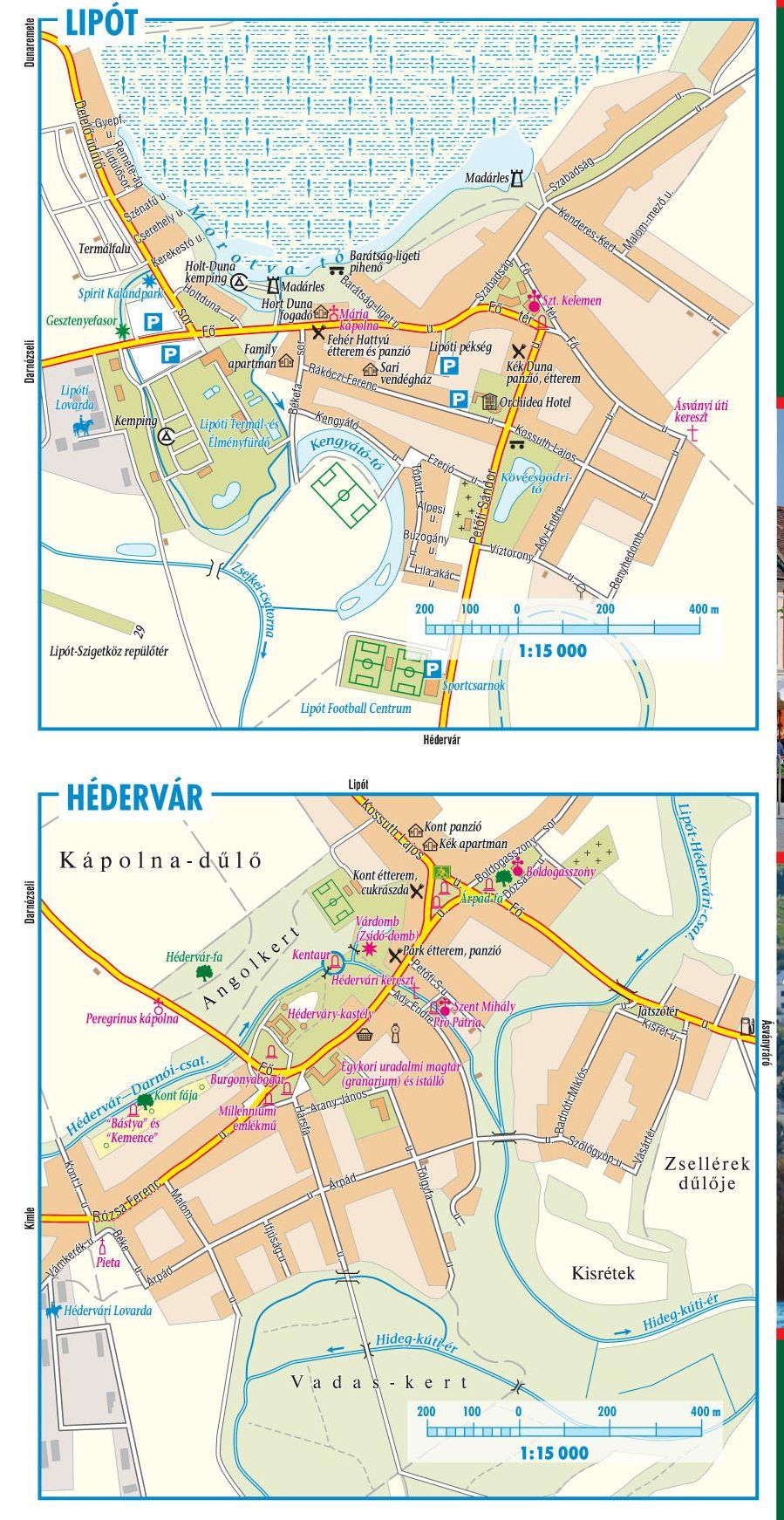 Szigetköz-Hanság mintakivágat 1:15.000 (Lipót)