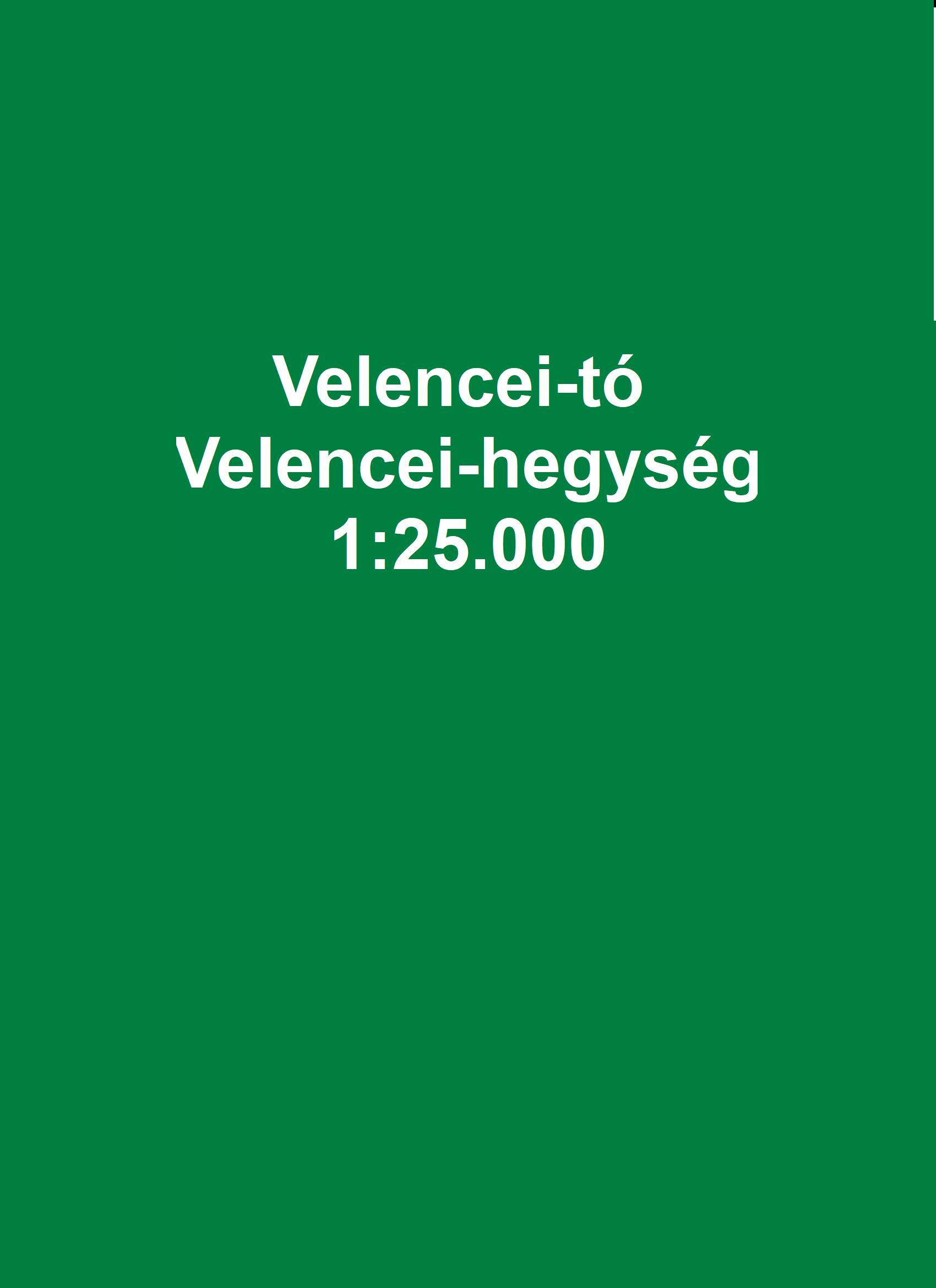Cartographia: Velencei-tó / Velencei-hegység részletes várostérképekkel