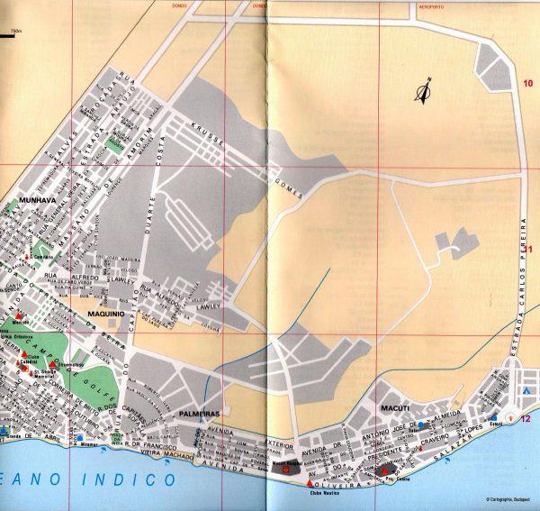 Beire várostérkép minta