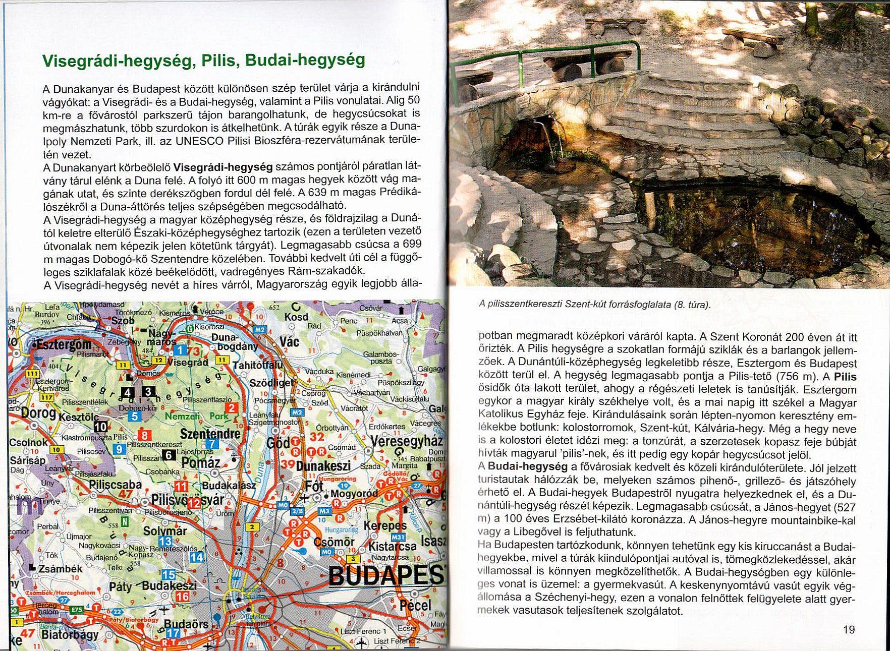 Dunántúl útikönyv. mintalap 3