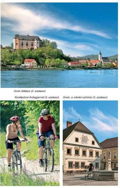 Duna-menti kerékpárút Ausztriában (mintafotó)