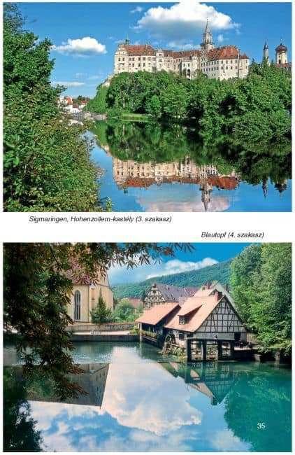 Duna-menti kerékpárút Németországban: fotó minta