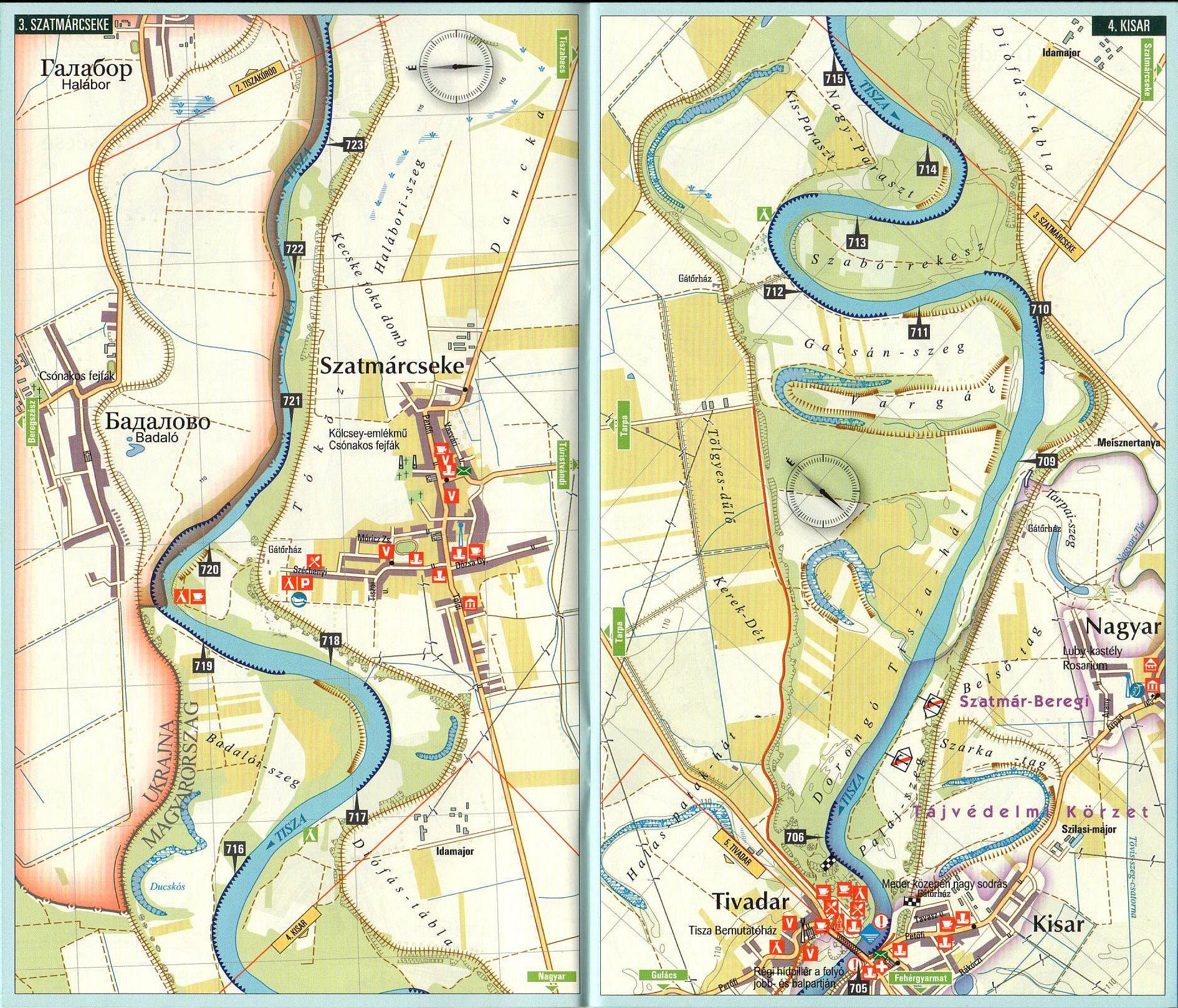 Tisza 745-537 (Tiszabecs-Tokaj): mintatérkép