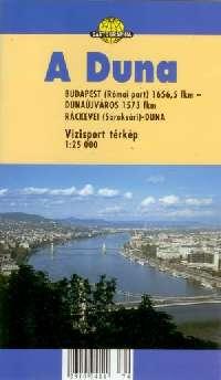 Részletes vizisport térkép (Duna 3: a főág Budapest - Dunaújváros között + a Ráckevei-Duna)