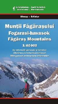 Részletes magyar, román és angol nyelvű turista információval (jelmagyarázat németül is).