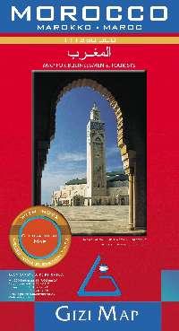 Nyugat-Szahara melléktérképpel és névmutatóval