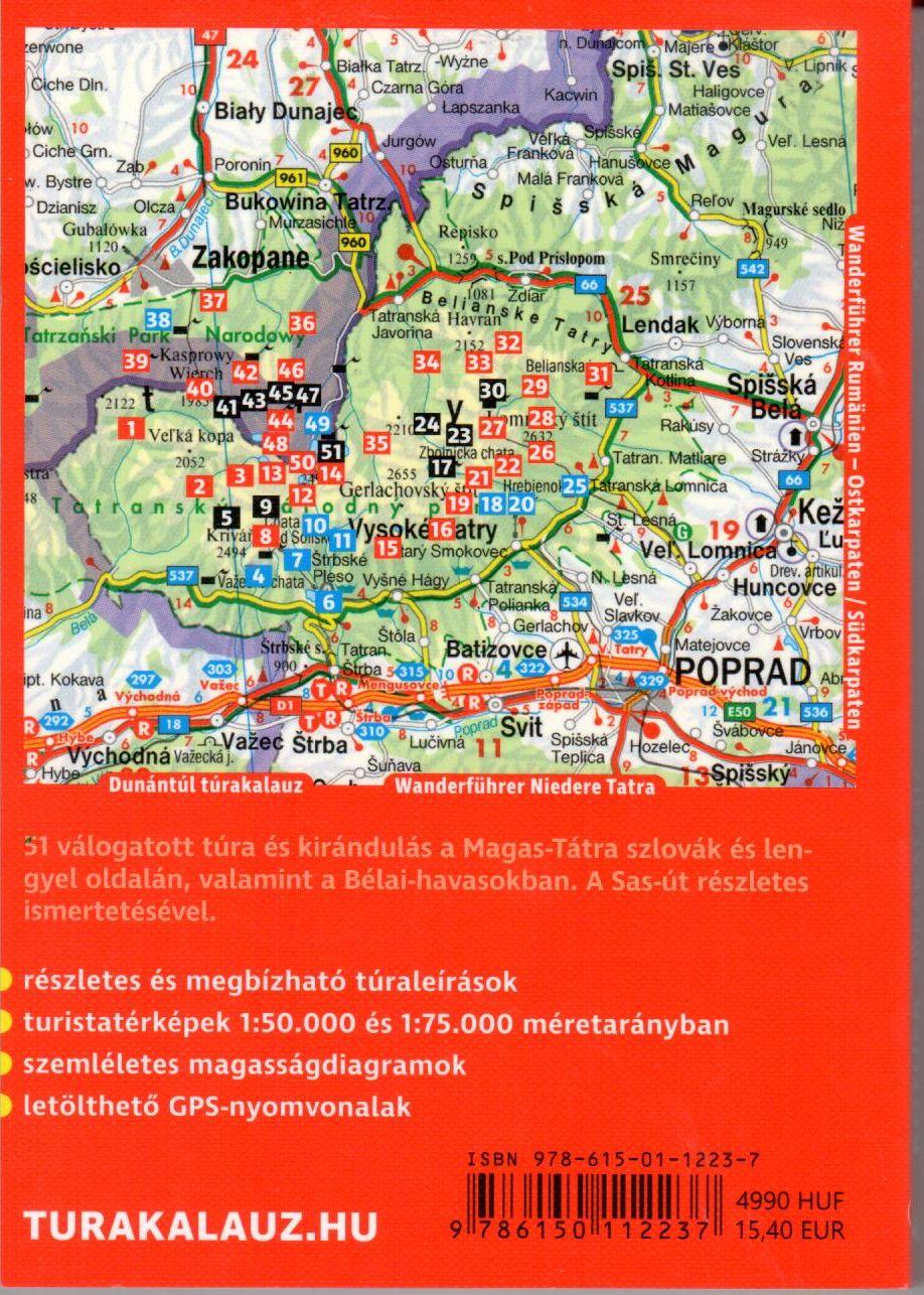 Rother-Magas-Tátra túraútvonalak